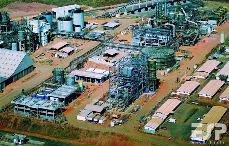 Fábrica de fertilizantes Copebrás – GO