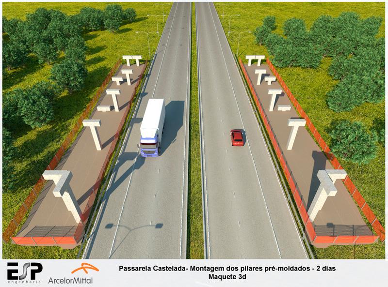 A4b---Passarela-Castelada-Pilares